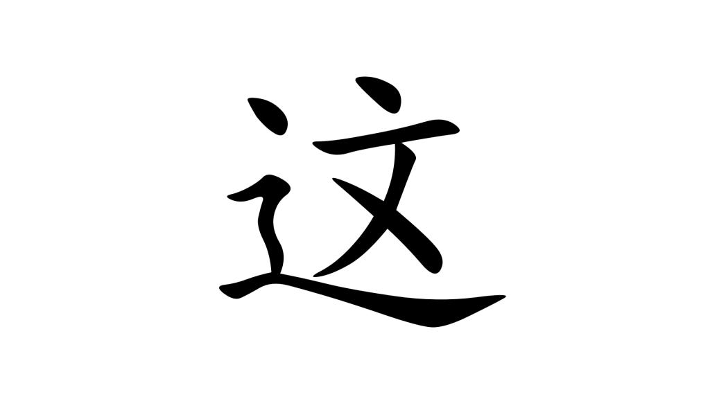 הסימנית 这 - תמונת שער
