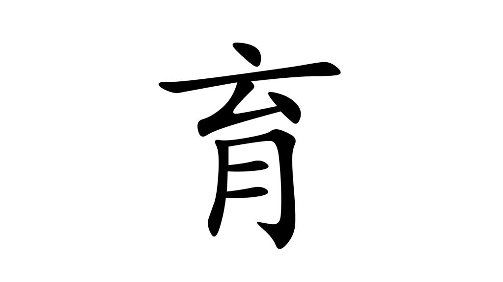 הסימנית 育 - תמונת שער
